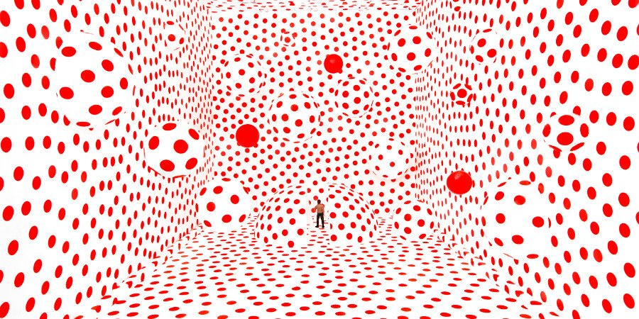 Red Polka Dots Room